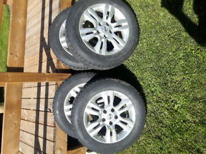 Nissan Altima Original rims
