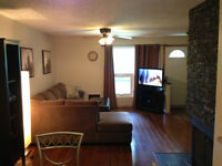 Immaculate Furnished 2 bedroom plus den 1100sq ft west end condo