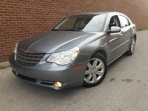 2010 Chrysler Sebring Limited,Low KMs,Leather,Sunroof,Chrome Whe