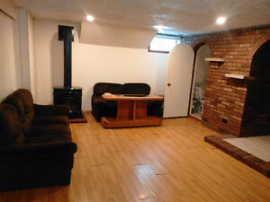 2 bedrooms basement apartment available