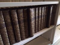 Full set of Britannia encyclopaedias