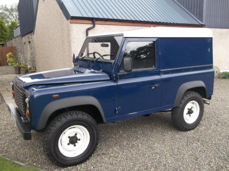 Land Rover Defender 90 Hardtop 2005 Td5 Storry 4x4 In