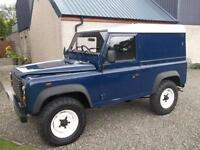 Land Rover Defender 90 hardtop, 2005 Td5, Storry 4x4