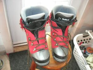 Koflach Winter plastic mountaineering boots - size 9.5