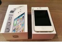 Apple iPhone 4S 16GB (White) Unlocked!