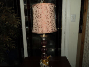 Pretty Pink Lamp-Reduced to $20.00