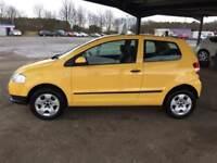 Volkswagen Fox 1.2 yellow