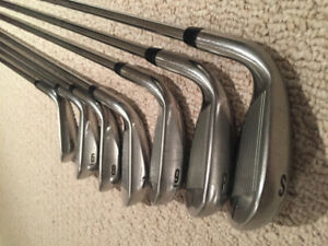 Callaway XR Irons 5-9, PW, SW, RH, Steel Shaft, Great Condition