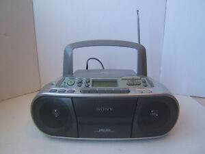 Sony Stereo CFD-S01 CD Cassette Radio