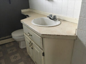 Bathroom Vanity Cabinet with Sink & Faucet