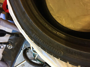 Continental 225/45 R17 4 winter tires off bmw