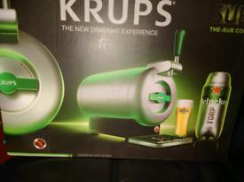 Krups beer machine