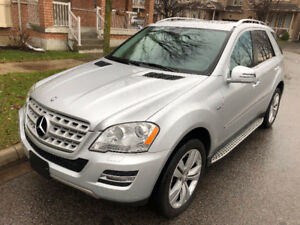 2011 Mercedes-Benz M-Class ML350 Bluetec Diesel SUV, Crossover