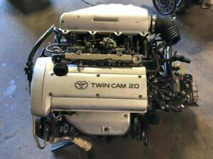 JDM TOYOTA 4AGE SILVER TOP ENGINE WITH MT TRANSMISSION FOR SALE