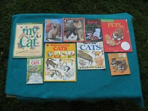 Primary/Jr Reading Books Cat Theme