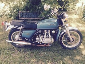 Parting out 1975 Honda GL1000 Goldwing
