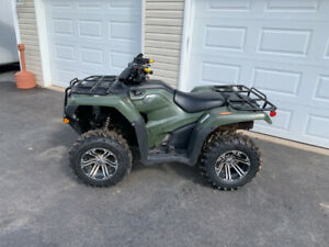 2017 HONDA TRX420F FOURTRAX  ( WE FINANCE )