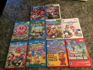 Nintendo Wii, Wii U Games