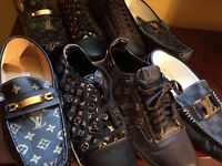 12 PAIRS LACOSTE GUCCI LOUIS VUITTON ALL 12 MEN LOT ONLY