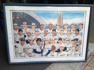 "VINTAGE 1977 ""THE WAY IT IS"" TORONTO BLUE JAYS PRINT LIMITED"