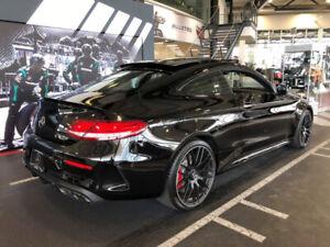 Mercedes AMG C63S Coupe Noir 2017 - Faible kilométrage