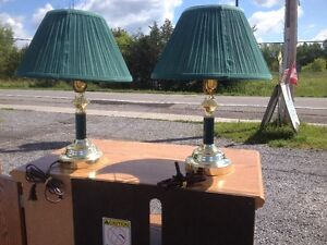 MATCHING PR. OF TABLE LAMPS