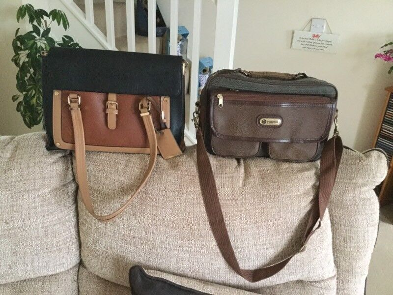 Shoulder and large hand bags for sale.