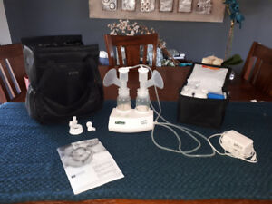 Ameda Purely Yours electric double breast pump with Carry all