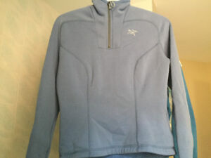 Arcteryx Blue PolarTech North Fleece Sweater Small