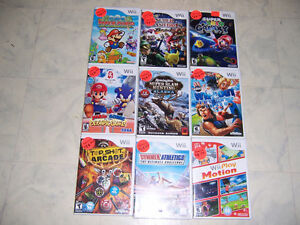 FOR SALE NINTENDO WII GAMES,