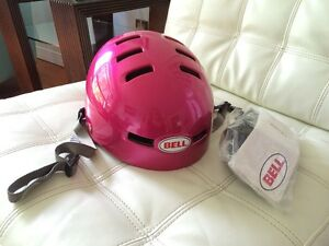 *~* Cool, Hot Pink BELL Helmet *~*