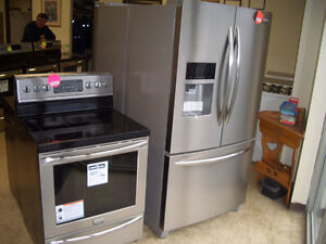 HUGE SELECTION OF NEW AND USED REFURBISHED DISCOUNT APPLIANCES