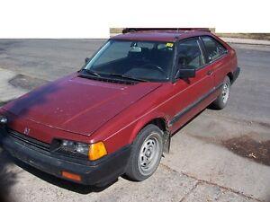 1985 Honda Accord Coupe (2 door)