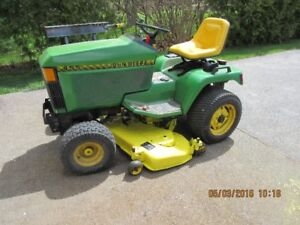 John Deere 455 diesel tractor for sale
