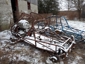 Red Dune Buggy Frame