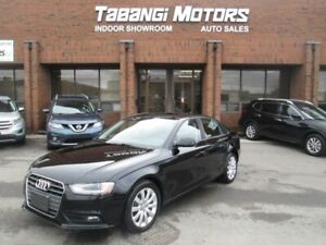 2014 Audi A4 QUATTRO   NO ACCIDENTS   LEATHER   SUNROOF   HEATE