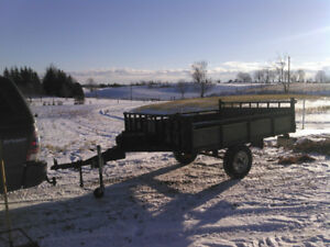 ATV/Snowmobile Trailer For Sale.