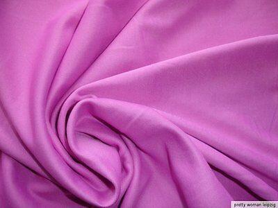 1 Lfm seidiger Jersey 3,55€/m² Trikotstoff Micromodal rosa PC60