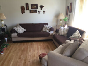Living-room 3 pieces excellent condition