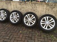 Nissan QASHQAI/JUKE alloys wheel with tyre