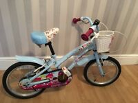"16"" 9"" APOLLO CHERRY LANE GIRLS BIKE"