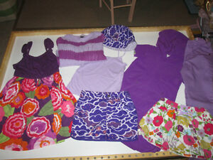 Girls Size 6-7 Spring Clothing Lot #1 - Gap, Columbia, Crazy 8