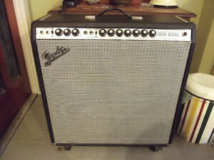 Fender Super Reverb Amp. Kingston Kingston Area image 3