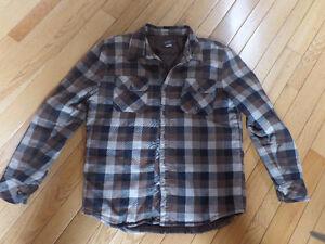 Plaid Billabong & O'Neill lined jackets