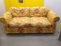 """Aztec two seater sofa bed """"FREE LOCAL DELIVERY """""""