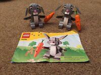 Two Lego rabbits 40086