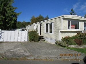 Updated 12 x 68  Mobile home for sale. #36- 2520 Quinsam Rd.