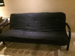 USED FUTON SOFA BED