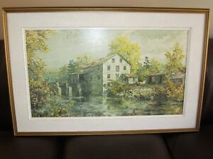 "KEIRSTEAD PRINT ""SIMMONS MILL"""