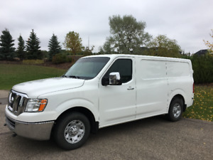 Like New Nissan NV 2500 Cargo Van